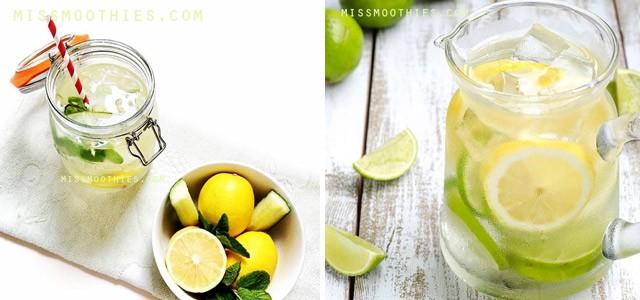 Agua Detox - 3 Recetas Caseras para Limpiar tu Cuerpo y Adelgazar
