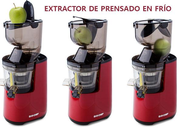 extractor de prensado en frío