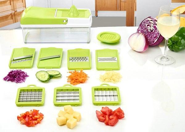 Mandolina de fruta y verduras