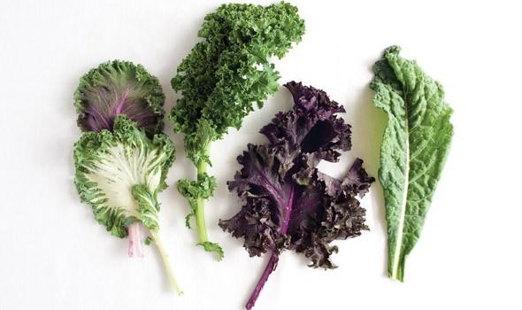 vegetales hoja verde
