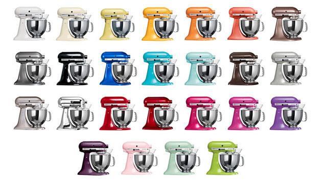 colores kitchenaid artisan