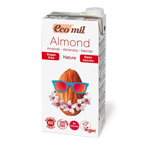 EcoMil Almond Nature, Bebida de almendra Sin azúcar