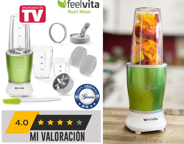 smoothie maker Feelvita opinión