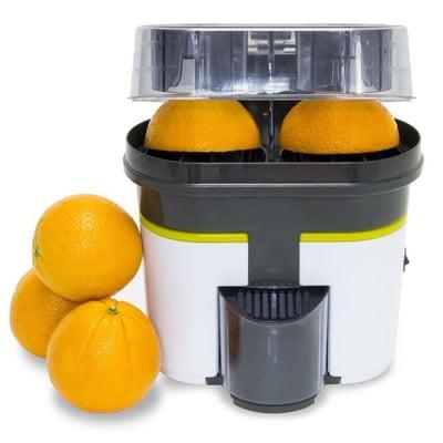 exprimidor con doble cabezal para naranjas