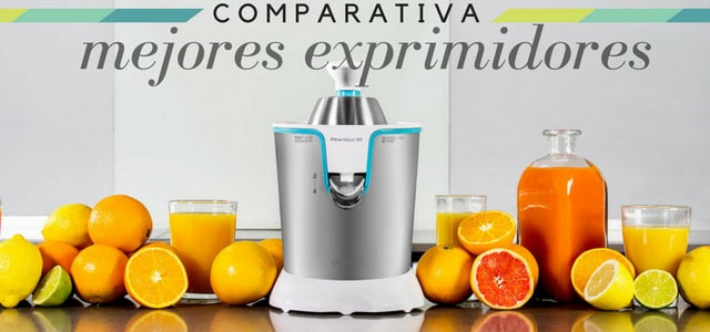 mejores exprimidores de naranjas eléctricos