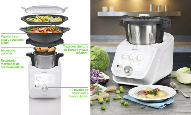 Robot de cocina lidl 30 de junio 2018 a la venta y su - Thermomix del lidl precio ...