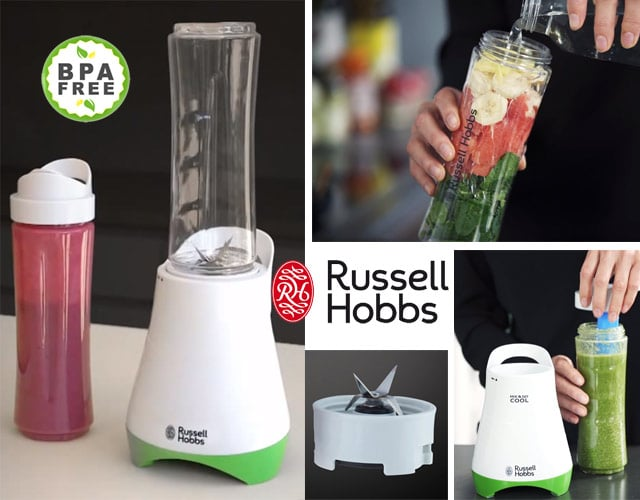 Batidora para smoothies Russell Hobbs Mix & Go Cool 21350-56