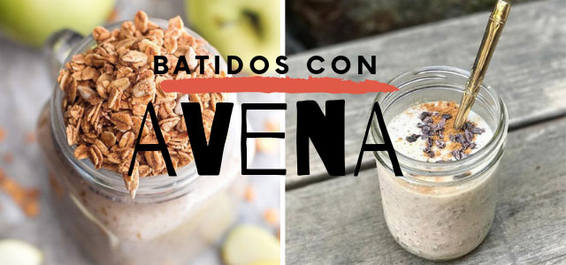 smoothies de avena