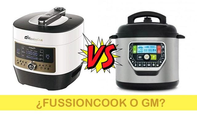 Fussioncook FC7Smart o GM, ¿qué olla programable elegir?