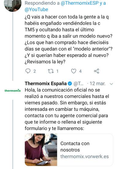 quejas sobre la TM6