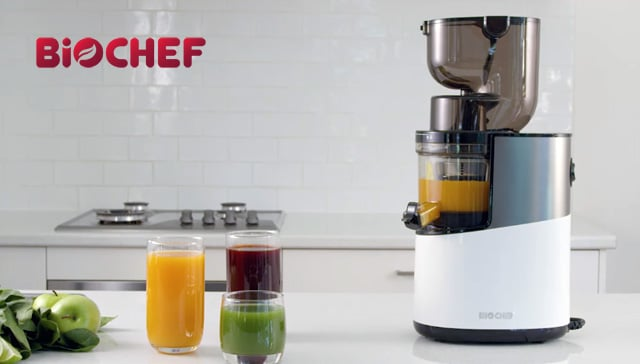 Bio Chef Atlas Whole Slow Juicer Pro – Extractor de zumos
