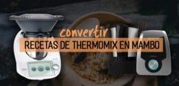 Cómo convertir las recetas de Thermomix en el robot Mambo de Cecotec (válido para Cecomix Plus) – Tabla de equivalencias