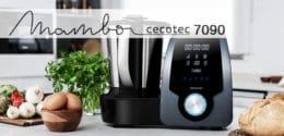 Mambo Cecotec 7090: el nuevo robot de cocina con 30 funciones y jarra para el lavavajillas