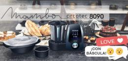 Mambo 8090: ya puedes comprar el nuevo robot de cocina de Cecotec con báscula integrada