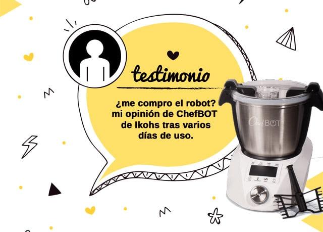 mi opinión sobre el robot Chefbot