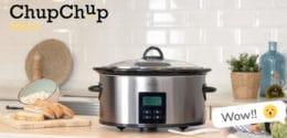 Chup Chup Matic de Cecotec – La olla de cocción lenta que, además, es programable 24 horas