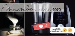 Mambo 9090 de Cecotec: un nuevo robot de cocina con jarra cerámica (y, de paso, con otra apta para el lavavajillas)