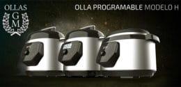 Olla GM Modelo H, H Deluxe y H Ovall: descubre los nuevos modelos de ollas GM con tapa abatible y un diseño espectacular