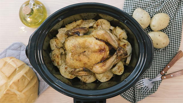 pollo en la olla ChupChup Matic