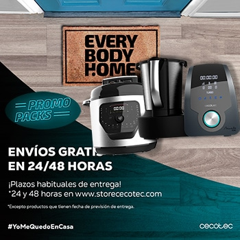 promo packs de Cecotec
