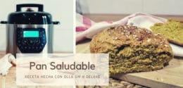 Cómo hacer pan saludable y casero en olla GM – Receta fácil y rápida