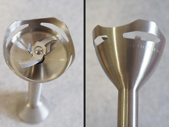 cuchillas y campana